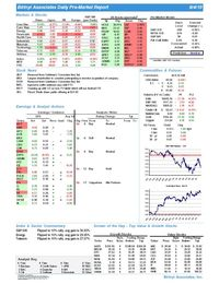 Daily Market Report 20100804