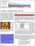 Reminiscences Cover May 2011