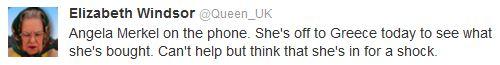 Queen tweet